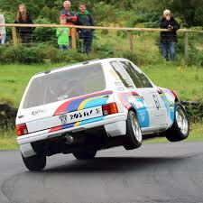 peugeot 205 rally video peugeot 205 gti powered by f1 technologyturnology
