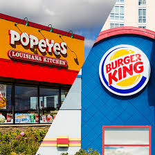 burger king might be buying popeyes chicken food wine