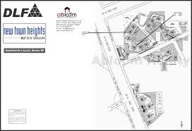 Dlf New Town Heights Sector 90 Floor Plan Dlf New Town Heights Sector 90 Gurgaon