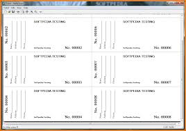 receipt templates free 3 raffle ticket template free receipt templates raffle ticket within the main window of the software you can create raffle ticket template free