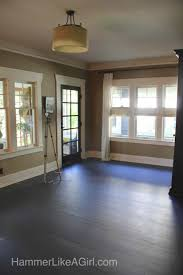 painting a floor from ugly to lovely painting a floor part 2 hammer like a
