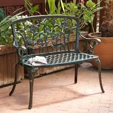Outdoor Furniture Iron by Outdoor Benches Shop The Best Deals For Oct 2017 Overstock Com