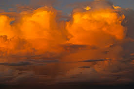 orange and white wallpapers orange and white clouds free image peakpx