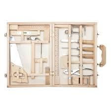 Tool Box Large Wooden Toy Tool Box U2013 Nova Natural Toys U0026 Crafts