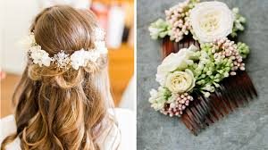 fleur de mariage mariage je veux des fleurs dans mes cheveux