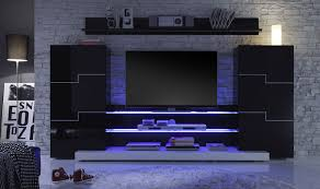 decorations white veneered plywood wall mounted tv stand over
