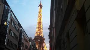 eiffel tower what an amazingly beautiful structure side street