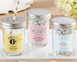 jar baby shower personalized glass jar baby shower favors by kate aspen