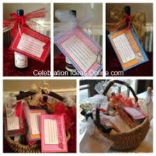 bridal shower wine basket bridal shower gift idea that brides it starts a family tradition