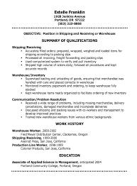 Paramedic Resume Examples by Shipping Clerk Resume Sample Http Resumesdesign Com Shipping