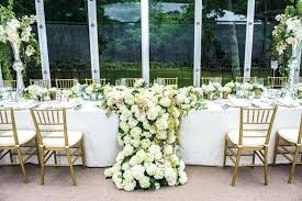 wedding reception table runners wedding ideas fresh flower table runner inside weddings flower table