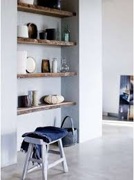Wooden Shelf Building by 137 Best Open Shelving Images On Pinterest Home Architecture