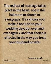 wedding quotes american barbara de angelis marriage quotes quotehd