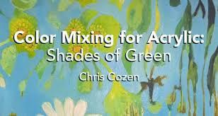 50 shades of green artist u0027s network