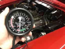 engine vacuum troubleshooting classic car restoration club