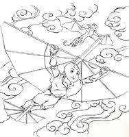avatar airbender colin solan u0027s original comic art