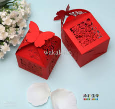 wedding favor boxes gift handmade diy box candy box chocolate