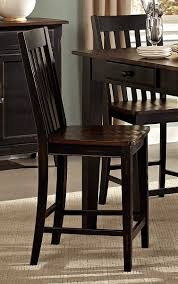 homelegance three falls rectangular dining set two tone dark
