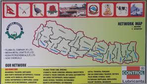Kathmandu Nepal Map by Fujima Oil Company Pvt Ltd An Official Website Lubricant In