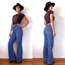 High Waist Bell Bottom Jeans 70s Bell Bottom Jeans Jeans To