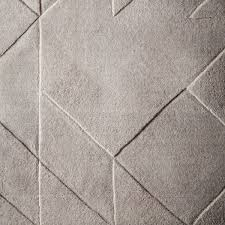 West Elm Rug by Carved Triangles Wool Rug Platinum West Elm Uk