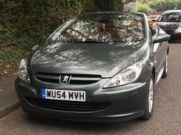2004 peugeot 307cc automatic leather seats u0026 brand new mot in