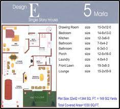 home design marla house plans civil engineers pk 40 60 plot size