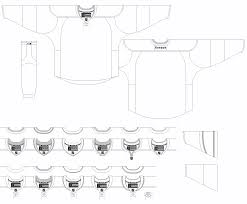 hockey jersey template printable pairs and spares