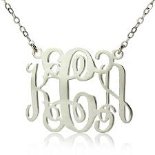 sterling silver personalized jewelry aliexpress buy new personalized necklace 925 sterling silver