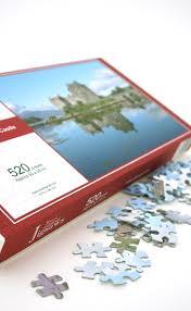 eilean donan castle 500 piece jigsaw puzzle by scotweb