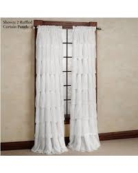 Drapery Panels 96 Fall Is Here Get This Deal On Gypsy Ruffled Curtain Panel 60 X 96