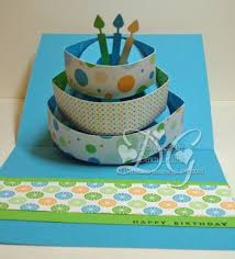 pop up birthday card tutorial fun for a special card card
