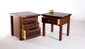 custom wood nightstands david stine woodworking