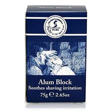 alum bond of bond alum block beard blade