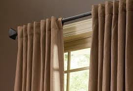 Drawstring Drapes How To Choose The Right Drapery Hardware At The Home Depot