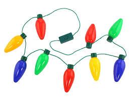 flashing christmas light necklace blinking light up christmas necklace set kovot
