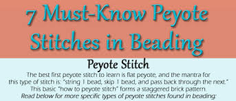 how to peyote stitch is easier than you think interweave
