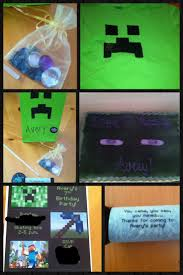 minecraft party invites 14 best minecraft party images on pinterest minecraft party