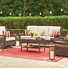Home Depot Patio Furniture Enchanting Outdoor Wicker Patio Furniture Patio Furniture For Your