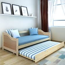 Pull Out Bunk Bed Double Sofa Bed Pine Wood Daybed Bunk Bed Pull Out Bed Wheeled