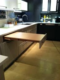pull out table kitchen cabinet u2022 kitchen tables