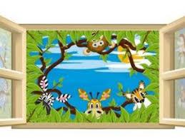 deco chambre jungle décoration chambre enfant thème jungle par decogik