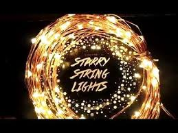 starry string lights starry string lights on copper wire by deneve review