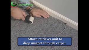 Magnet Flooring Laminate How To Pull Cable Wire Under Carpet Youtube