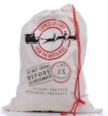 santa sacks warmhol personalized santa sack for christmas presents