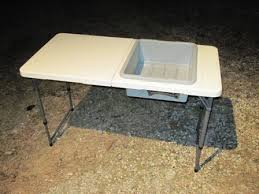 Portable Camping Sink Kitchen by Camping Sink Why Didn U0027t I Think Of That The Tub Has A Drain Too