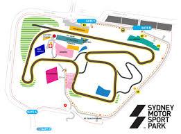 venue map u2013 ardc u2013 sydney motor sport park