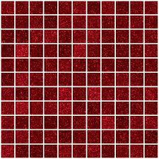 1 inch red glitter glass tile susan jablon glass tile designs