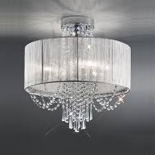 White Ceiling Lights White Ceiling Light Franklite Empress Ceiling Light Fl2303 6 The