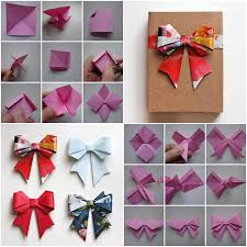 paper gift bows how to make beautiful paper kirigami bow